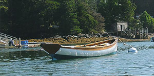 The Keeper's House Inn | Isle au Haut, Maine: 15' wooden Whitehall Rowboat