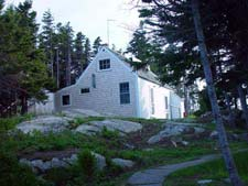 The Keeper's House Inn | Isle au Haut, Maine: The Woodshed Cottage