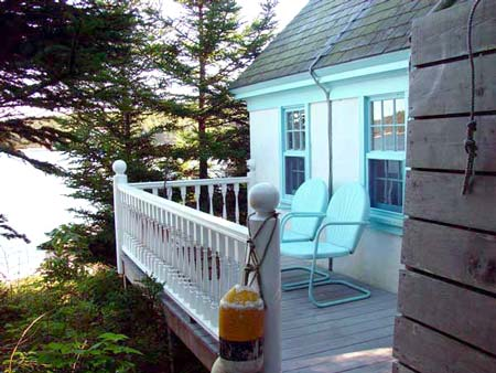 The Keeper's House Inn | Isle au Haut, Maine: The Oil House