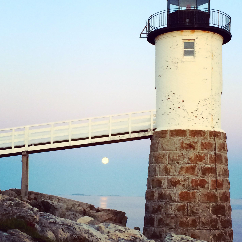 The Keeper's House Inn   Isle au Haut, Maine: Moonrise