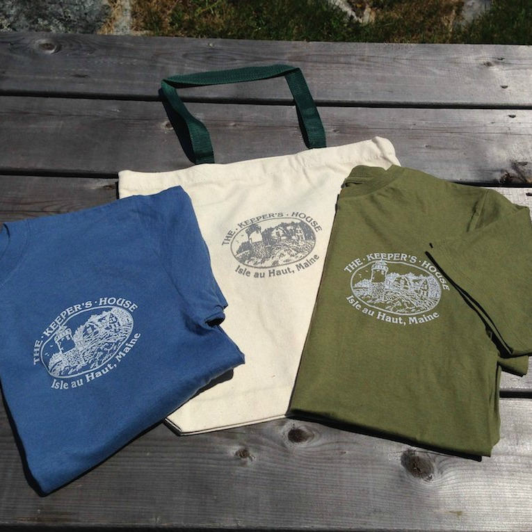 The Keeper's House Inn   Isle au Haut, Maine: Gear Here