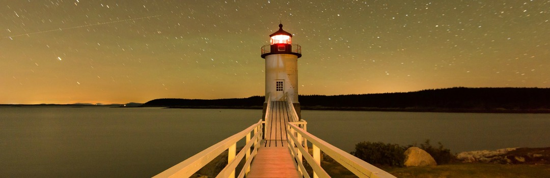 The Keeper's House Inn | Isle au Haut, Maine: Starlight, image by Gerald de Patoul