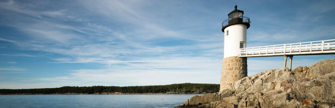 The Keeper's House Inn | Isle au Haut, Maine: Lighthouse and tides, image by Gerald de Patoul